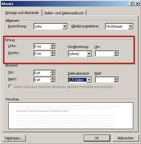 Grundlagen Von Formatierung Und Textlayout Herr Kaltde