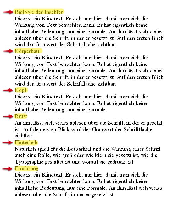 Formatvorlagen In Word Herr Kaltde