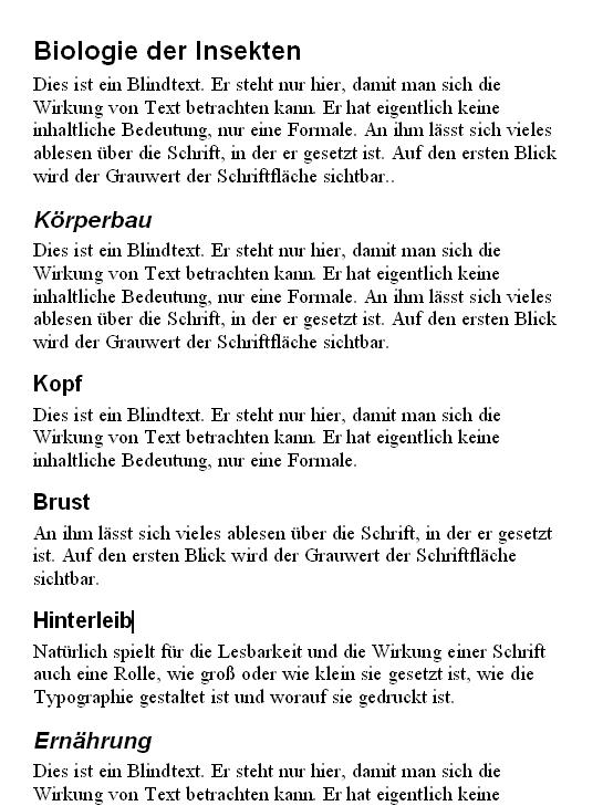 Formatvorlagen In Word Herr Kalt De