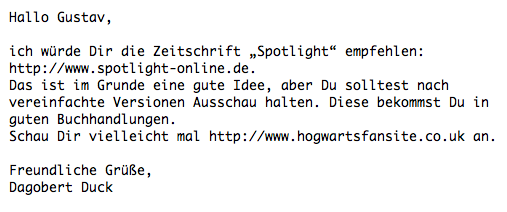 Erste E-Mail-Dating-Website