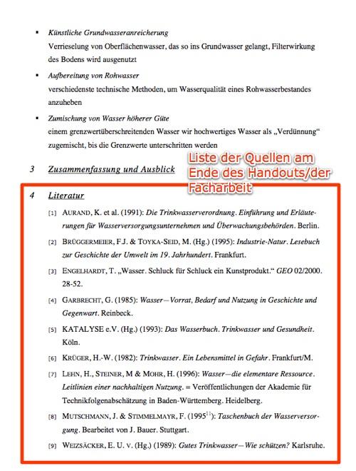 Quellen Korrekt Angeben Herr Kaltde